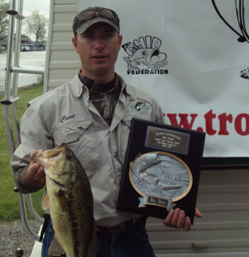 Page for Open bass fishing tournaments